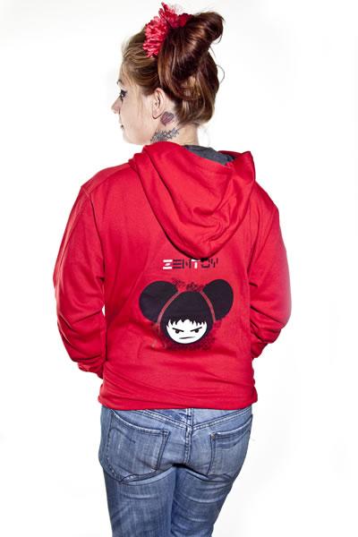ZenToy - Mujer sudadera roja